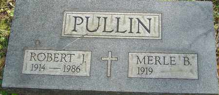 PULLIN, ROBERT - Franklin County, Ohio | ROBERT PULLIN - Ohio Gravestone Photos