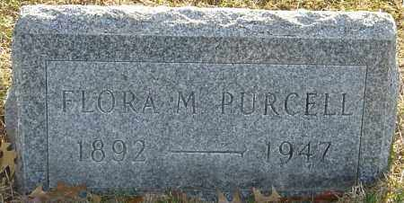 PURCELL, FLORA M - Franklin County, Ohio | FLORA M PURCELL - Ohio Gravestone Photos