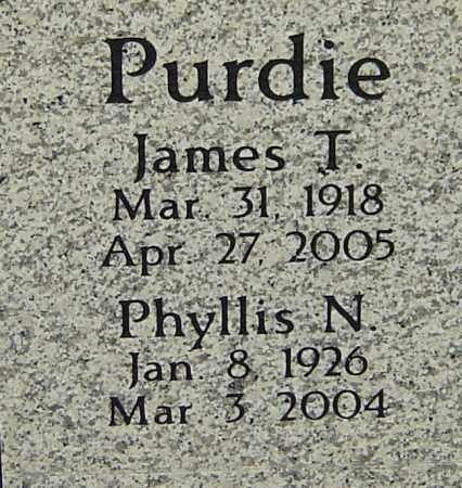 PURDIE, PHYLLIS N - Franklin County, Ohio | PHYLLIS N PURDIE - Ohio Gravestone Photos