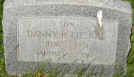 PUSKAS, DANNY B - Franklin County, Ohio | DANNY B PUSKAS - Ohio Gravestone Photos