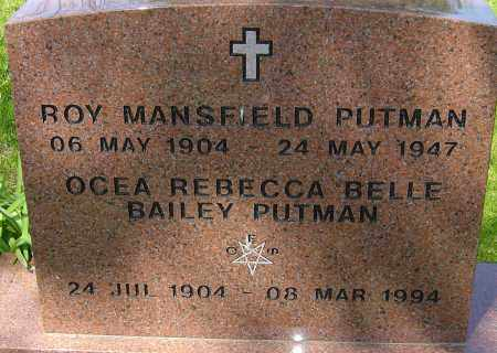 PUTNAM, ROY MANSFIELD - Franklin County, Ohio | ROY MANSFIELD PUTNAM - Ohio Gravestone Photos