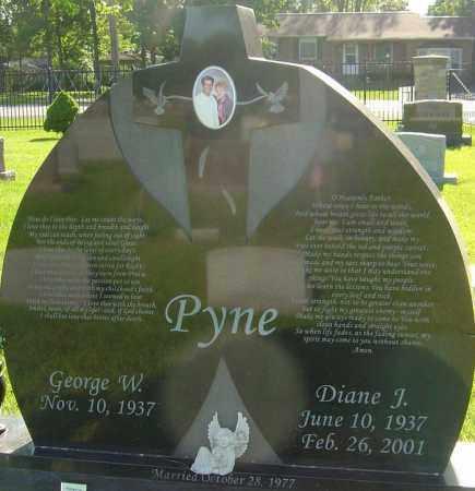 PYNE, DIANE J - Franklin County, Ohio | DIANE J PYNE - Ohio Gravestone Photos