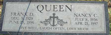 QUEEN, NANCY C - Franklin County, Ohio | NANCY C QUEEN - Ohio Gravestone Photos