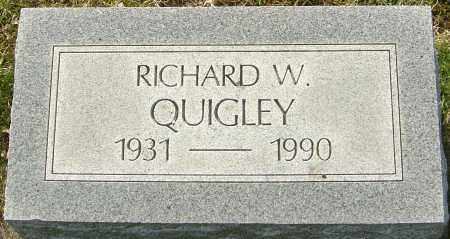 QUIGLEY, RICHARD W - Franklin County, Ohio | RICHARD W QUIGLEY - Ohio Gravestone Photos