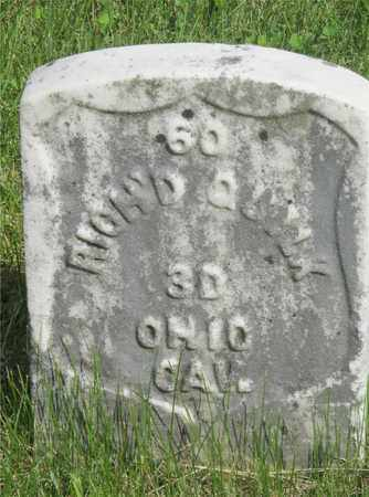 QUILK, RICH'D. - Franklin County, Ohio | RICH'D. QUILK - Ohio Gravestone Photos