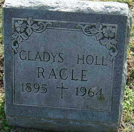 HOLL RACLE, GLADYS - Franklin County, Ohio | GLADYS HOLL RACLE - Ohio Gravestone Photos