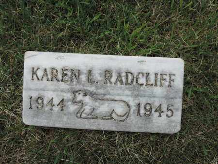 RADCLIFF, KAREN L. - Franklin County, Ohio | KAREN L. RADCLIFF - Ohio Gravestone Photos