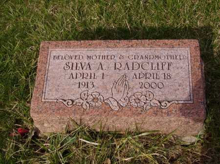 RADCLIFF, SILVA A. - Franklin County, Ohio | SILVA A. RADCLIFF - Ohio Gravestone Photos