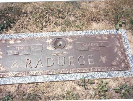 RAREY RADUEGE, GLADYS P. - Franklin County, Ohio | GLADYS P. RAREY RADUEGE - Ohio Gravestone Photos