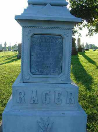 RAGER, JOHN - Franklin County, Ohio | JOHN RAGER - Ohio Gravestone Photos