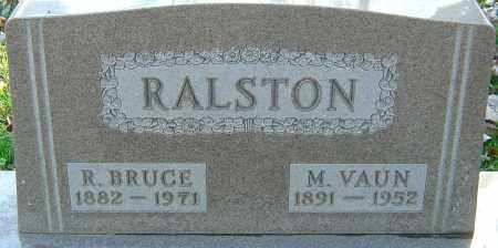 RALSTON, ROBERT BRUCE - Franklin County, Ohio | ROBERT BRUCE RALSTON - Ohio Gravestone Photos