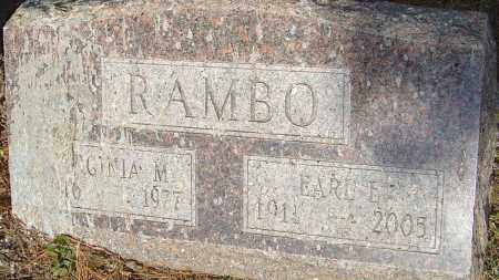 RAMBO, EARL E - Franklin County, Ohio | EARL E RAMBO - Ohio Gravestone Photos