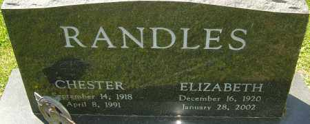 RANDLES, ELIZABETH - Franklin County, Ohio | ELIZABETH RANDLES - Ohio Gravestone Photos