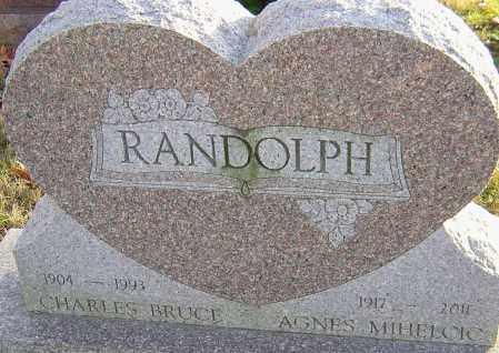 MIHELCIC RANDOLPH, AGNES - Franklin County, Ohio | AGNES MIHELCIC RANDOLPH - Ohio Gravestone Photos