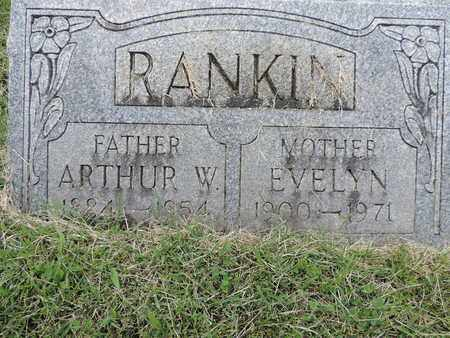 RANKIN, ARTHUR W. - Franklin County, Ohio | ARTHUR W. RANKIN - Ohio Gravestone Photos