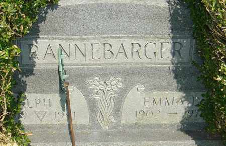 RANNEBARGER, RALPH O - Franklin County, Ohio | RALPH O RANNEBARGER - Ohio Gravestone Photos