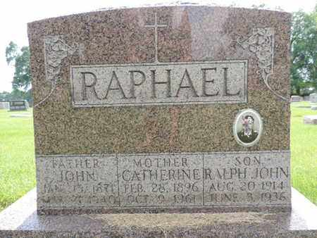 RAPHAEL, RALPH JOHN - Franklin County, Ohio | RALPH JOHN RAPHAEL - Ohio Gravestone Photos