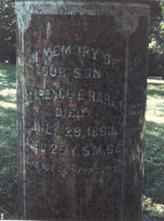 RAREY, CLARENCE E. - Franklin County, Ohio | CLARENCE E. RAREY - Ohio Gravestone Photos