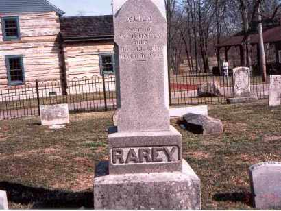 RYNE RAREY, ELIZA - Franklin County, Ohio | ELIZA RYNE RAREY - Ohio Gravestone Photos