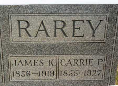 RAREY, JAMES K. - Franklin County, Ohio | JAMES K. RAREY - Ohio Gravestone Photos