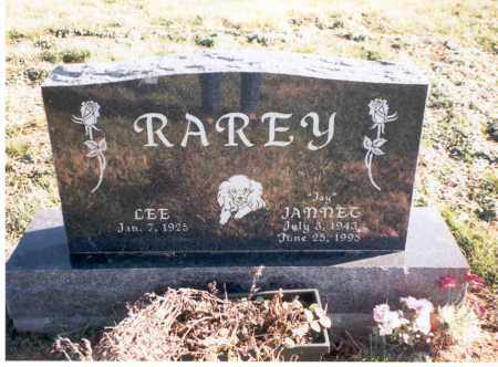 RAREY, LEE - Franklin County, Ohio | LEE RAREY - Ohio Gravestone Photos