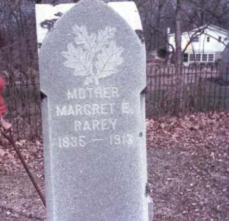 MARCY RAREY, MARGRET  E. - Franklin County, Ohio | MARGRET  E. MARCY RAREY - Ohio Gravestone Photos