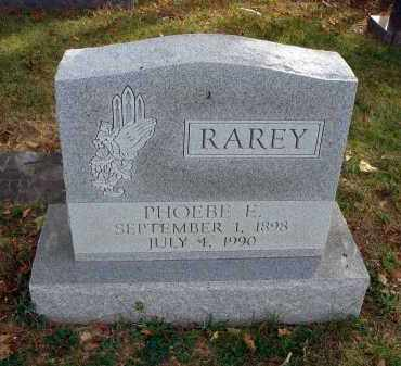 RAREY, PHOEBE E. - Franklin County, Ohio | PHOEBE E. RAREY - Ohio Gravestone Photos
