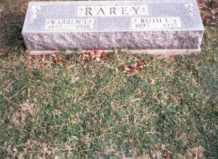 RAREY, WARREN  L. - Franklin County, Ohio | WARREN  L. RAREY - Ohio Gravestone Photos