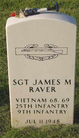 RAVER, JAMES M. - Franklin County, Ohio | JAMES M. RAVER - Ohio Gravestone Photos