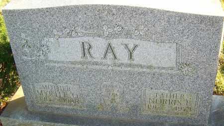 RAY, NORRIS - Franklin County, Ohio | NORRIS RAY - Ohio Gravestone Photos