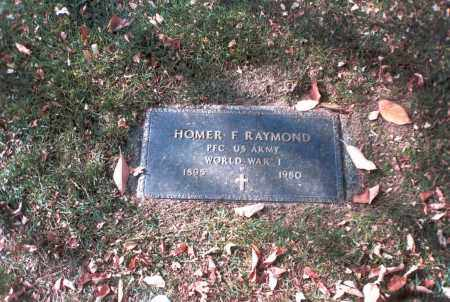 RAYMOND, HOMER F. - Franklin County, Ohio | HOMER F. RAYMOND - Ohio Gravestone Photos