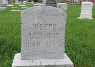 RAYMOND, JOSEPH - Franklin County, Ohio | JOSEPH RAYMOND - Ohio Gravestone Photos