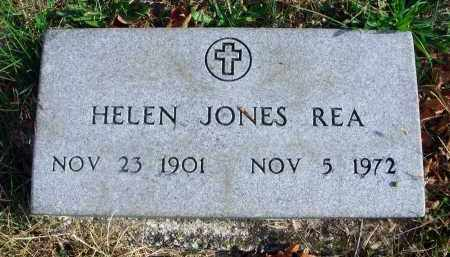 JONES REA, HELEN - Franklin County, Ohio | HELEN JONES REA - Ohio Gravestone Photos
