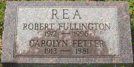 REA, ROBERT FULLINGTON - Franklin County, Ohio | ROBERT FULLINGTON REA - Ohio Gravestone Photos