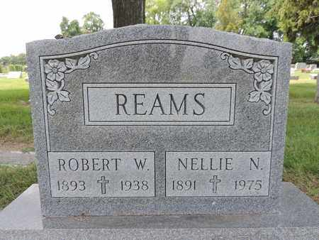 REAMS, ROBERT W. - Franklin County, Ohio | ROBERT W. REAMS - Ohio Gravestone Photos