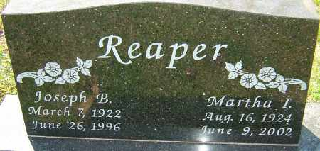 REAPER, MARTHA I - Franklin County, Ohio | MARTHA I REAPER - Ohio Gravestone Photos
