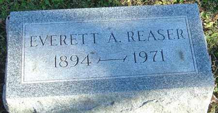 REASER, EVERETT A - Franklin County, Ohio | EVERETT A REASER - Ohio Gravestone Photos
