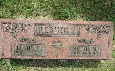REBHOLZ, NETTIE M. - Franklin County, Ohio | NETTIE M. REBHOLZ - Ohio Gravestone Photos