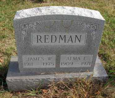 REDMAN, ALMA E. - Franklin County, Ohio | ALMA E. REDMAN - Ohio Gravestone Photos