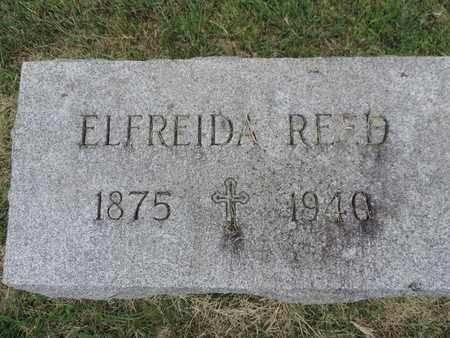 REED, ELFREIDA - Franklin County, Ohio | ELFREIDA REED - Ohio Gravestone Photos