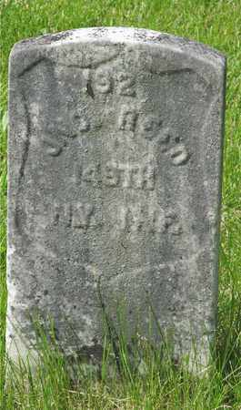 REED, JNO. - Franklin County, Ohio | JNO. REED - Ohio Gravestone Photos