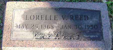 REED, LORELLE V - Franklin County, Ohio | LORELLE V REED - Ohio Gravestone Photos