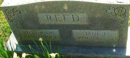 REED, WILBURN C - Franklin County, Ohio | WILBURN C REED - Ohio Gravestone Photos
