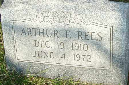 REES, ARTHUR E - Franklin County, Ohio | ARTHUR E REES - Ohio Gravestone Photos