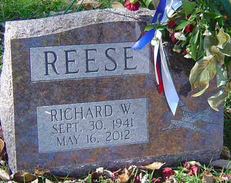 REESE, RICHARD W - Franklin County, Ohio | RICHARD W REESE - Ohio Gravestone Photos