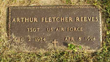 REEVES, ARTHUR FLETCHER - Franklin County, Ohio | ARTHUR FLETCHER REEVES - Ohio Gravestone Photos