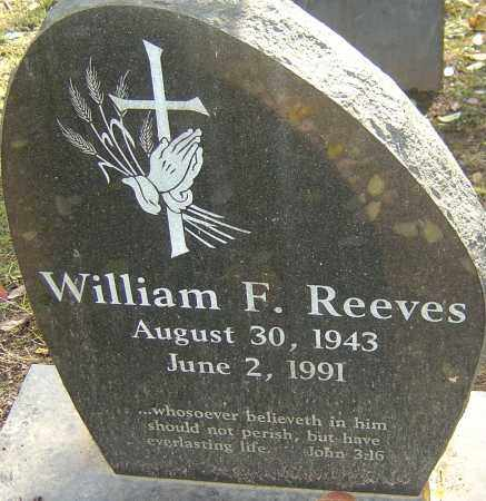 REEVES, WILLIAM F - Franklin County, Ohio | WILLIAM F REEVES - Ohio Gravestone Photos
