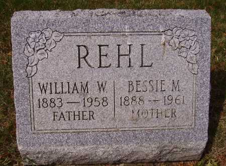 REHL, BESSIE M. - Franklin County, Ohio | BESSIE M. REHL - Ohio Gravestone Photos