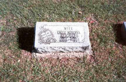 REICHARD, EMILY MINERVA - Franklin County, Ohio | EMILY MINERVA REICHARD - Ohio Gravestone Photos