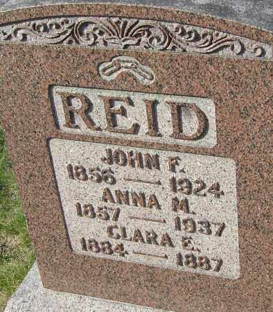 REID, CLARA E - Franklin County, Ohio | CLARA E REID - Ohio Gravestone Photos